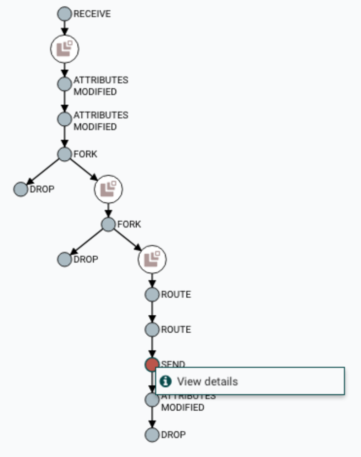 Provenance lineage chain